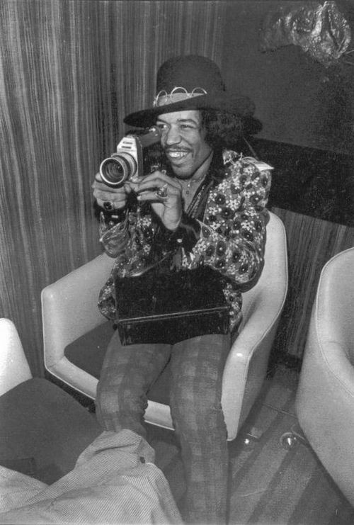 Jimi Hendrix -Canon Super8 1968 Elliot Landy