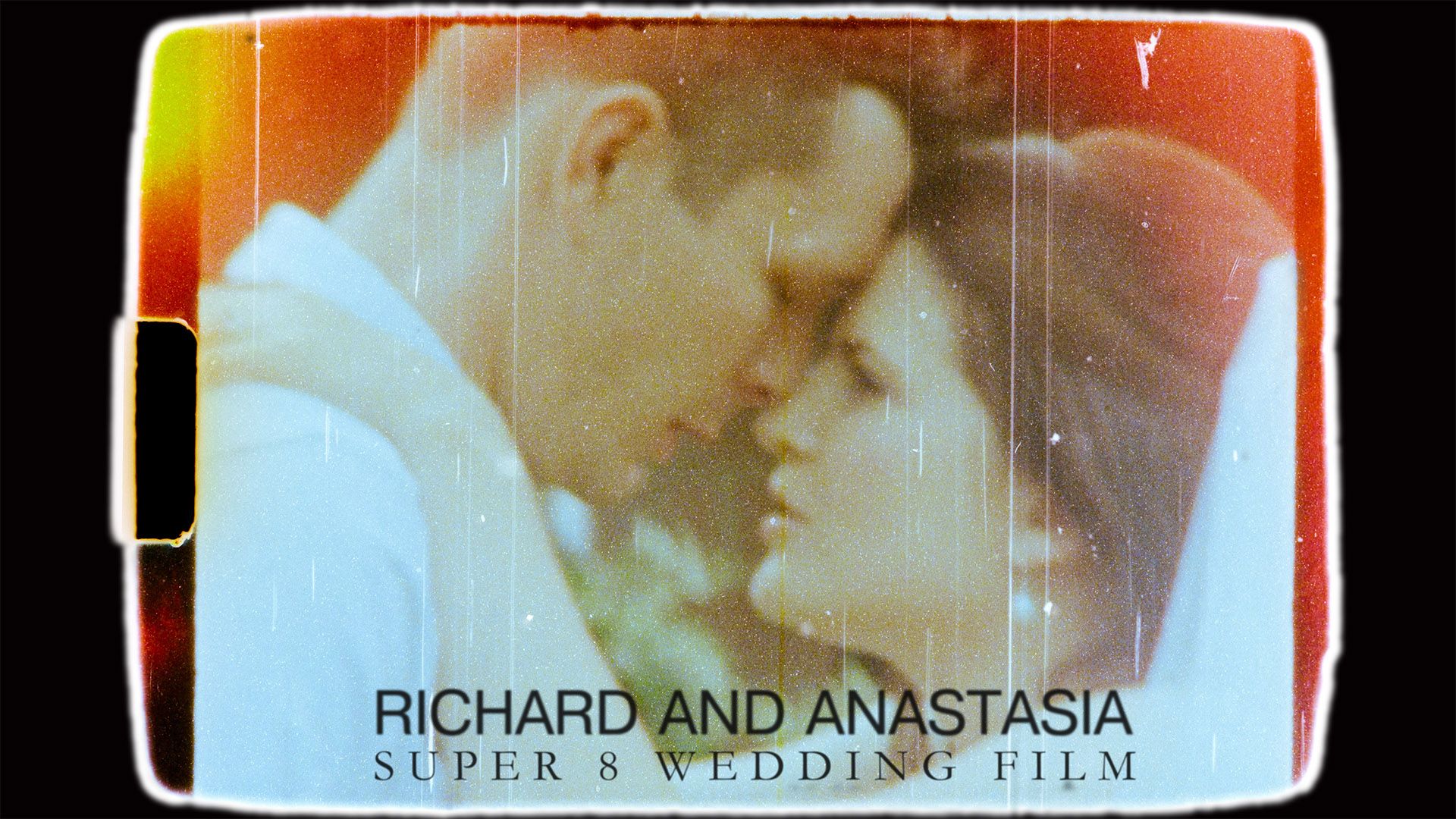 Super 8mm Wedding Video