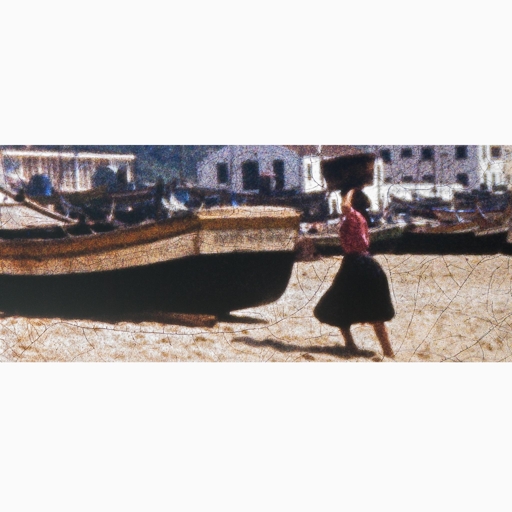 girl on the beach kodak kodachrome crop