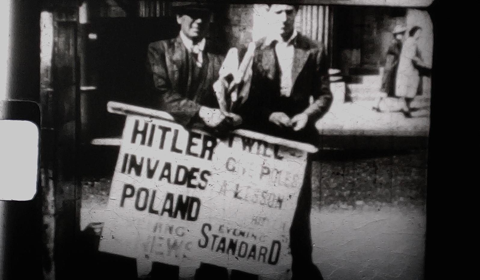 Hitler Invades Poland Super 8mm